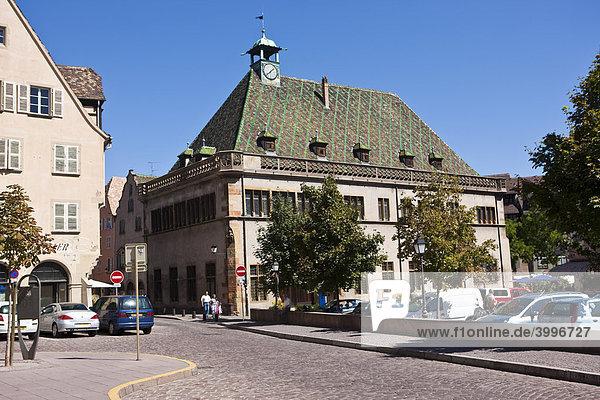 Altes Kaufhaus  Grand Rue  Altstadt  Colmar  Elsass  Frankreich  Europa