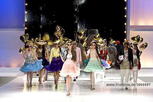 Auf dem Laufsteg der Copenhagen International Fashion Fair Modemesse,  Kopenhagen,  Dänemark,  Europa
