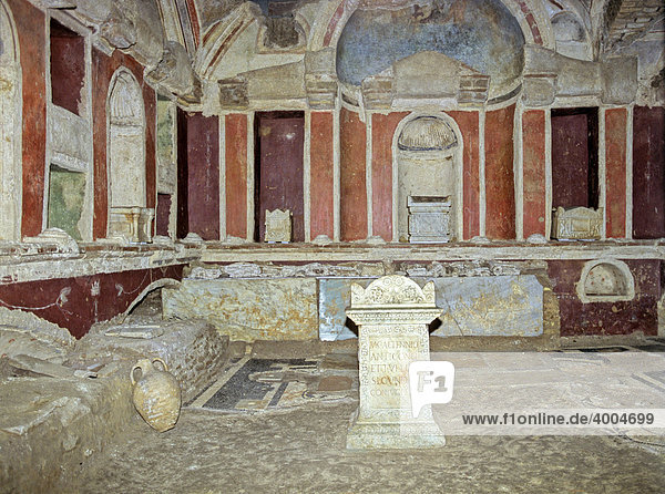 Mausoleo di Caetennius Antigonus  konstantinische Basilika  Alt St. Peter  Petersdom  Vatikan  Rom  Latium  Italien  Europa