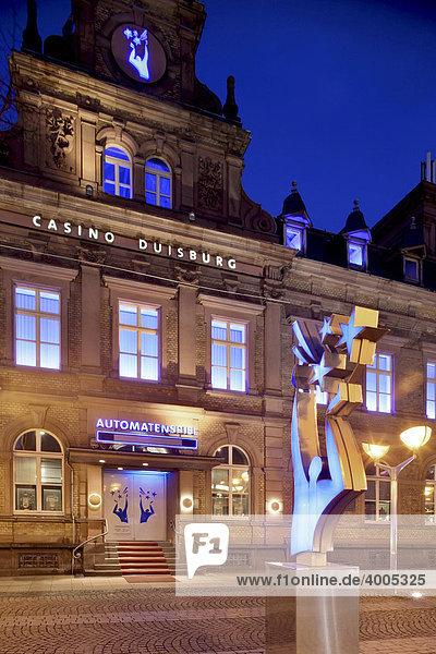 Casino Duisburg  Spielbank  Duisburg  Ruhrgebiet  Nordrhein-Westfalen  Deutschland  Europa Casino Duisburg, Spielbank, Duisburg, Ruhrgebiet, Nordrhein-Westfalen, Deutschland, Europa