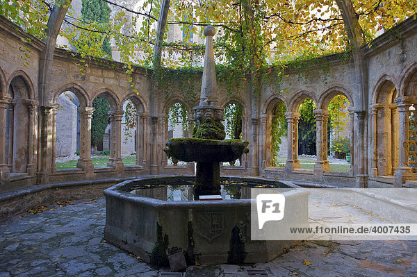 Brunnenhaus im Kloster Valmagne  Languedoc-Roussillon  Frankreich  Europa