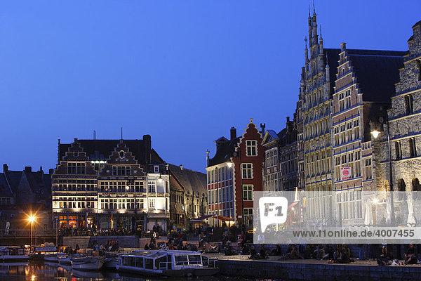 Gent  Ostflandern  Belgien  Europa