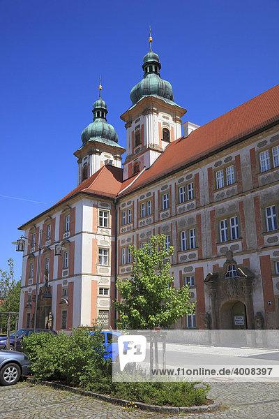Kloster Speinshart  Abtei des Prämonstratenserordens in Speinshart  Landkreis Neustadt an der Waldnaab  Oberpfalz  Bayern  Deutschland  Europa