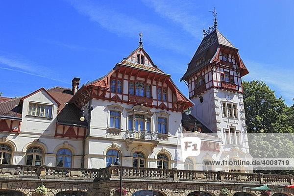 Palais Theresienstein in der Stadt Hof  Oberfranken  Bayern  Deutschland  Europa