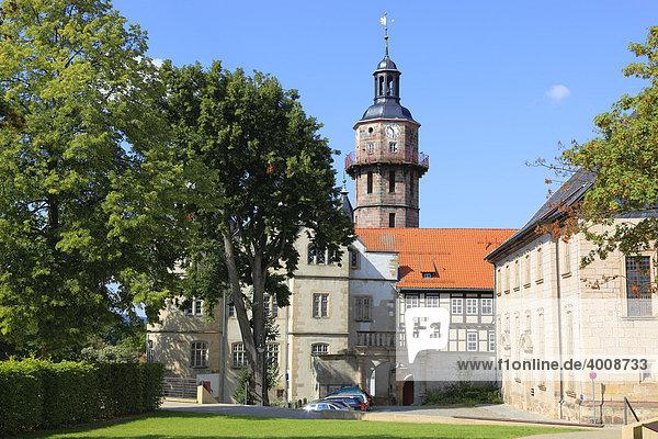 Schloss Bertholdsburg in Schleusingen  Landkreis Hildburghausen  Thüringen  Deutschland  Europa
