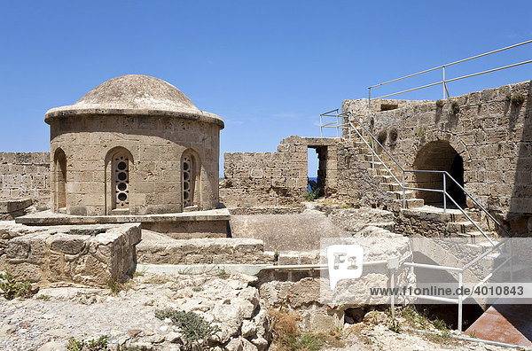 In der Zitadelle von Kyrenia  auch Girne  Nordzypern  Zypern  Europa