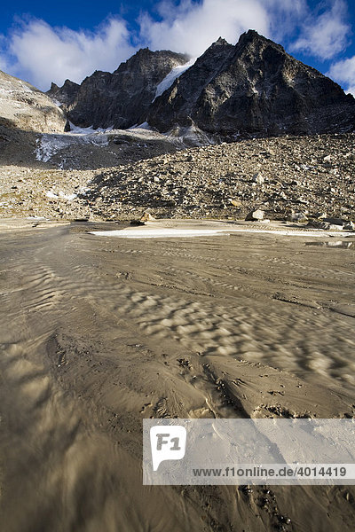 Nationalpark Stilfserjoch  Südtirol  Italien  Europa