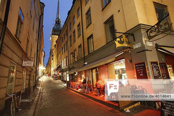 Altstadt  Stockholm  Schweden  Skandinavien  Europa