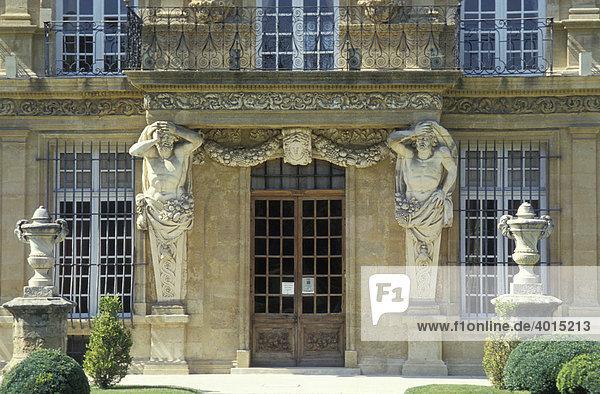 Pavillon de Vendome  von 1665  Aix-en-Provence  Provence  Frankreich  Europa