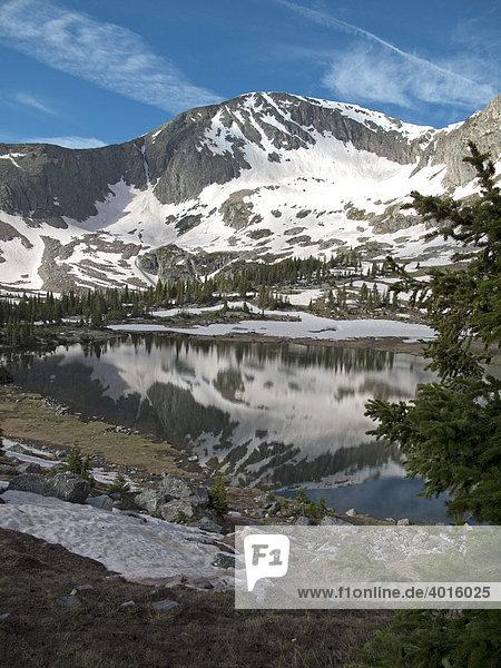 Gebiet der Missouri Seen in der Holy Cross Wilderness  White River National Forest  Colorado  USA