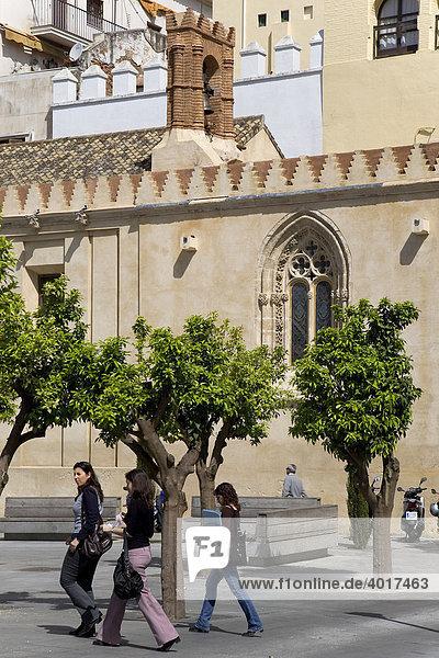 Puerta de Jerez  Sevilla  Andalusien  Spanien  Europa
