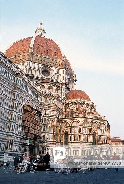 Dom Santa Maria del Fiore  Florenz  Toskana  Italien
