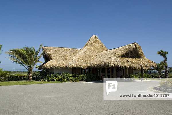 Flughafen Gebäude in Punta Cana  Dominikanische Republik  Mittelamerika