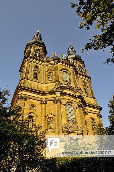 Vierzehnheiligen  Wallfahrtskirche  süddeutscher Barock  bei Bad Staffelstein  Oberfranken  Bayern  Deutschland  Europa