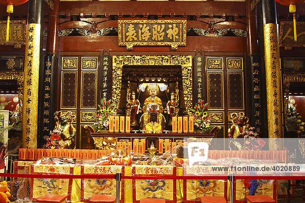 Chinesischer Tempel  Singapur  Singapore  Asien