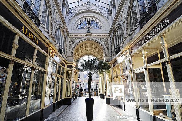 Passage Pommeraye  Einkaufspassage  Nantes  Pays de la Loire  Frankreich  Europa