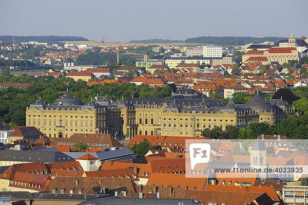 Residenz  UNESCO World Heritage Site  Würzburg  Unterfranken  Bayern  Deutschland  Europa