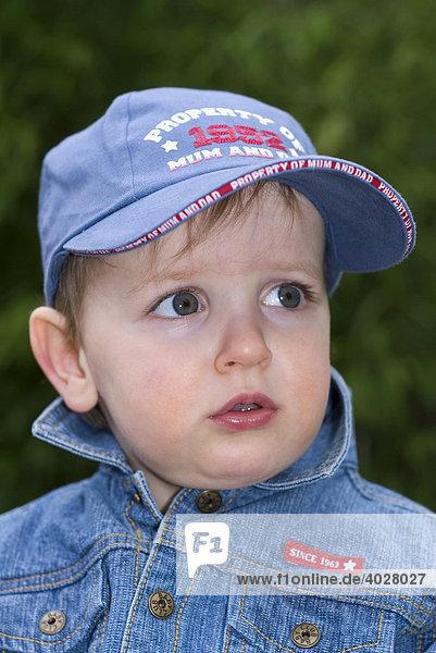 18-month-old boy  portrait