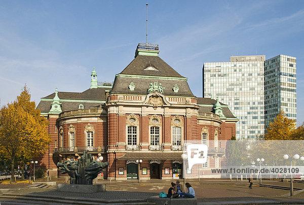 Laeiszhalle  Laeisz Halle  auch Musikhalle Hamburg  am Johannes-Brahms-Platz in Hamburg  Deutschland  Europa