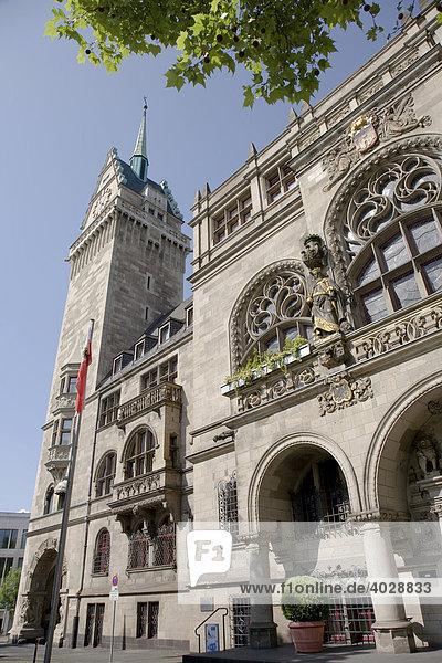 Rathaus  Duisburg  Nordrhein-Westfalen  Deutschland  Europa