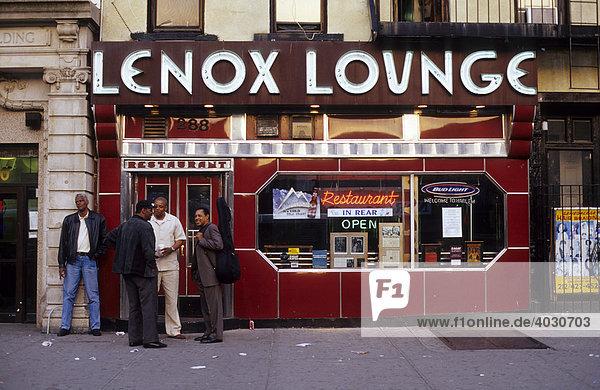 Lenox Lounge  Harlem  New York City  USA