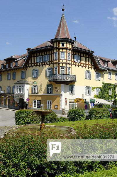 Hotel Post  Weyer Markt  Oberösterreich  Österreich  Europa