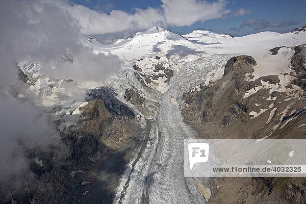 Pasterzengletscher  Nationalpark Hohe Tauern  Kärnten  Österreich  Europa