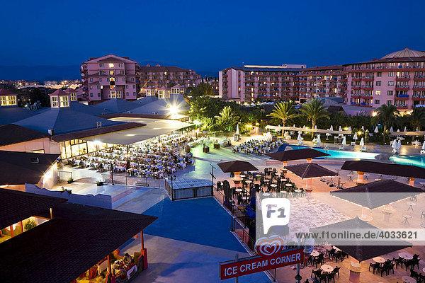 Selge Beach Resort an der türkischen Riviera  Türkei  Asien