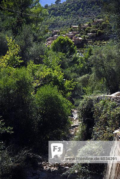 Bergdörfchen Fornalutx / Mallorca Balearen Spanien