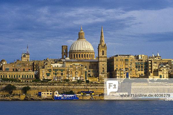 St. Pauls  anglikanische Kathedrale  Malta  Europa