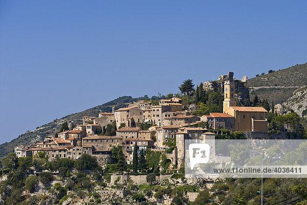 Eze  Jardin Exotique  Ort  Provence-Cotes-des-Alpes-d'Azur  Frankreich  Europa