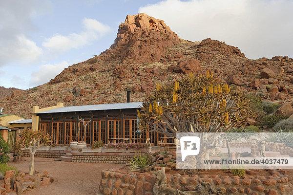 Namtib Gästefarm in den Tirasbergen  Namibia  Afrika
