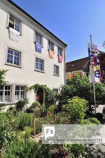 Bibelgalerie Meersburg am Bodensee,  Baden-Württemberg,  Deutschland,  Europa