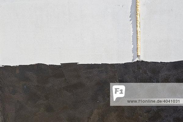 Spachtelmasse auf Beton