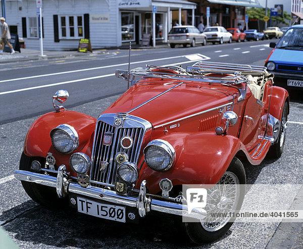 MG TF 1500  Oldtimer  Sportwagen in Auckland  Nordinsel  Neuseeland