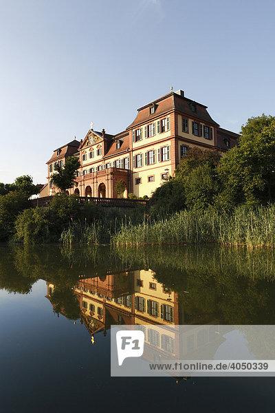 Kellereischloss  Rotes Schloss  Hammelburg  Rhön  Unterfranken  Bayern  Deutschland  Europa