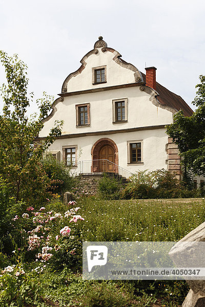 Stadtmuseum Herrenmühle  Hammelburg  Rhön  Unterfranken  Bayern  Deutschland  Europa