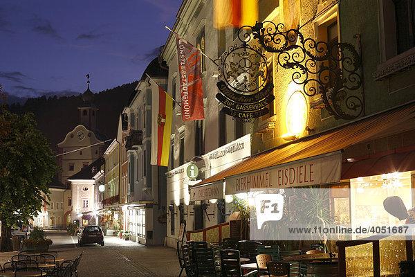 Hauptplatz  Gmünd in Kärnten  Österreich  Europa