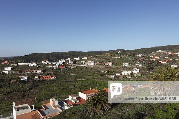 El Cercado  La Gomera  Kanaren  Kanarische Inseln  Spanien  Europa