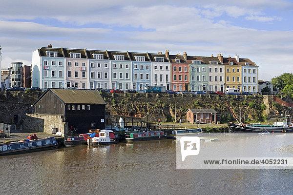 Hafen von Bristol  England  Großbritannien  Europa