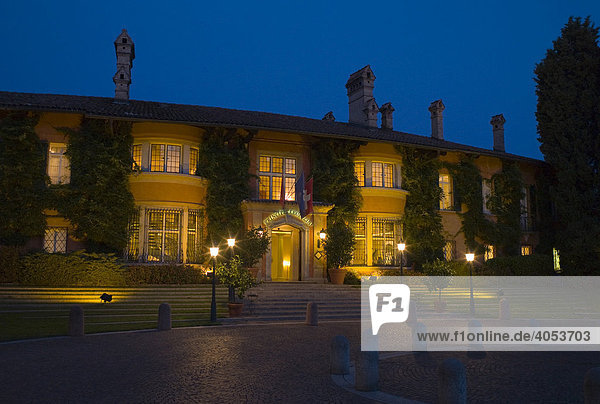 Entrance  Villa Principe Leopoldo hotel and SPA  5 star luxury hotel  Lake Lugano  Switzerland  Europe