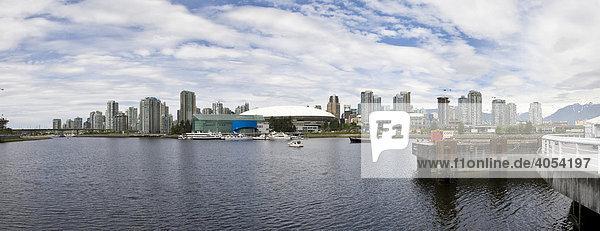 B.C. Place Stadium  hinten Yaletown  Vancouver  British Columbia  Kanada  Nordamerika