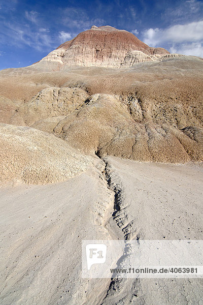 Erosionsgebiet in der Nähe des Old Paria Movie Set  Grand Staircase Escalante National Monument  Utah  USA  Nordamerika