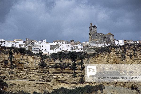 Arcos de la Frontera  Andalusien  Spanien  Europa