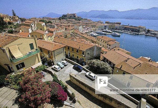 Forte Stella  Darsena - Hafen  Portoferraio  Insel Elba  Provinz Livorno  Toskana  Italien  Europa