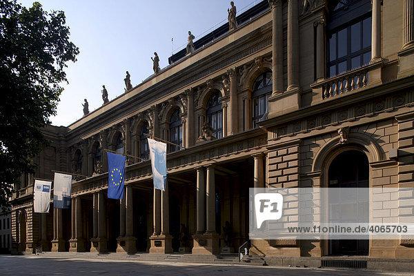 Portal der Frankfurter Wertpapierbörse  Frankfurt am Main  Hessen  Deutschland  Europa