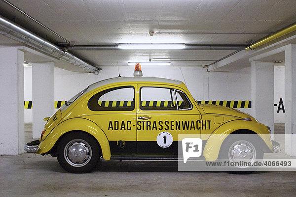 ADAC-Käfer  Oldtimer des Allgemeinen Deutschen Automobilklubs