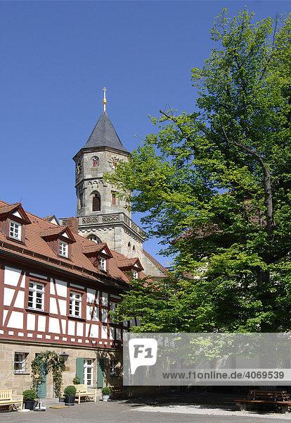 Kloster Neunkirchen am Brand  bei Bamberg  Oberfranken  Franken  Bayern  Deutschland  Europa