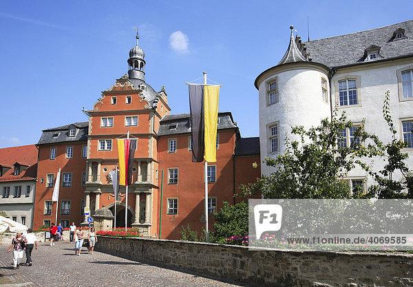 Deutschordenschloss  Bad Mergentheim an der Tauber  Baden-Württemberg  Deutschland  Europa