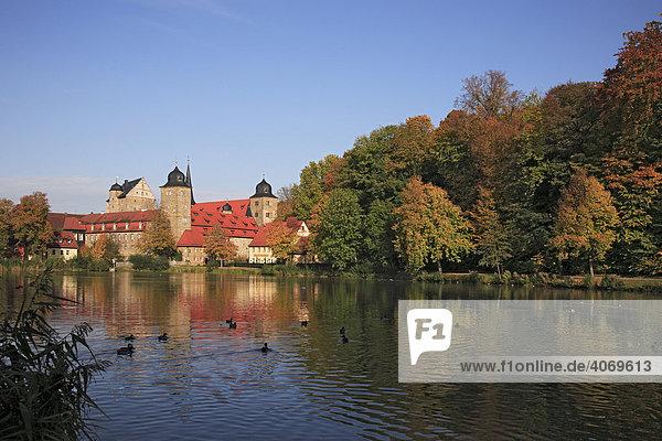 Schloss Thurnau  Landkreis Kulmbach  Oberfranken  Bayern  Deutschland  Europa